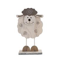 Dekoracja owca biały, 15,5 cm