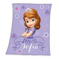 Dětská deka Princezna Sofia, 130 x 160 cm