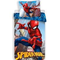 Lenjerie de pat pentru copii Spiderman 04 micro, 140 x 200 cm, 70 x 90 cm