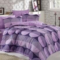 Bavlněné povlečení Zara lila, 140 x 200 cm, 70 x 90 cm