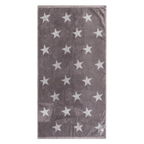 Ručník Stars šedá