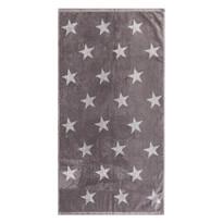 Stars törölköző, szürke, 50 x 100 cm