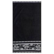 Ręcznik kąpielowy Fiora czarny, 70 x 140 cm