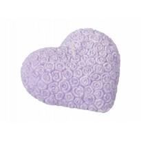 Valentýnska sviečka Srdce, fialová