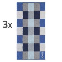 JOOP! uteráky Plaza Azur, 50 x 100 cm, sada 3 ks