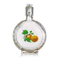 Ploscă Banquet Apricot, cu dop ermetic, 400 ml