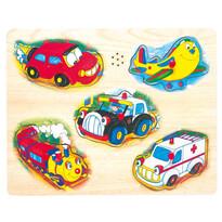 Bino Játék puzzle Közlekedés