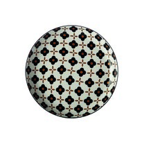 Maxwell & Williams Marigold talerz płytki Black Flower, 23 cm