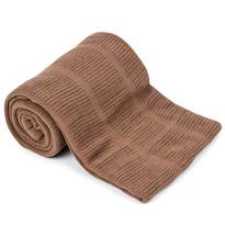 Bavlnená deka hnedá, 150 x 200 cm