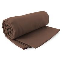 DecoKing Fitness Ręcznik Ekea brązowy