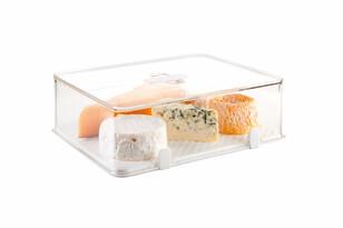 Tescoma Purity zdrowy pojemnik do lodówki wysoki   28 x 22 cm