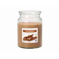 Lumânare parfumată în pahar Scorțișoară, 500 g