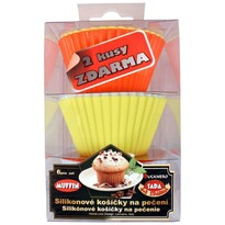 6dielna silikónová sada na muffiny