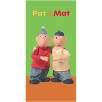 Pat és Mat törölköző green, 75 x 150 cm
