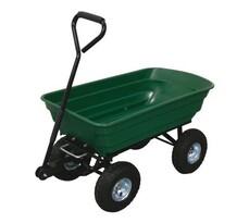 Vozík záhradný sklápací 125 l