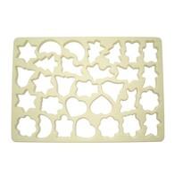 Vykrajovacia forma na cukrovinky 30 x 21 x 1 cm
