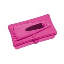 Box na vreckovy Ping pong ružová