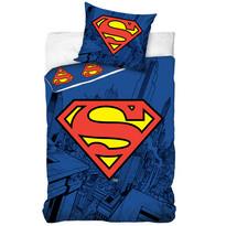 Detské bavlnené obliečky Superman, 140 x 200 cm, 70 x 80 cm