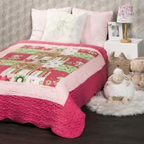 4Home Detský prehoz na posteľ Princess, 140 x 200 cm