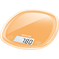 Sencor SKS 33OR waga kuchenna, pomarańczowy