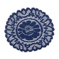 Dekoracyjna podkładka niebieska  35 cm, zestaw 2sz
