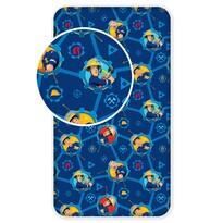 Lenjerie de pat pentru copii Fireman Sam 008, 90 x 200 cm