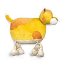 Vankúšik Mačka žltá, 47 cm