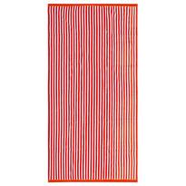 Ręcznik plażowy Beach Waves pomarańczowy , 90 x 170 cm