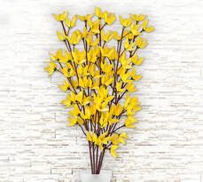 Umelá kvetina zlatý dážď 5 ks