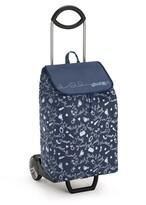 Nákupní taška na kolečkách EASY New modrá