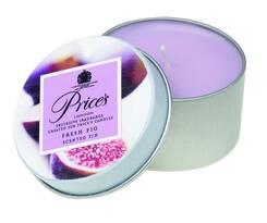 Price's świeczka zapachowa w puszce soczysta figa, 3 szt.