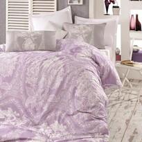 Lenjerie de pat Homeville Adeline purple, 140 x 220 cm, 70 x 90 cm, 50 x 70 cm