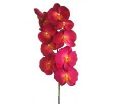 Umělá květina orchidej růžová