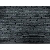Fototapeta lámaný kámen černá 315 x 232 cm