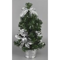 Pom de Crăciun Vestire, argintiu, 35 cm