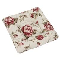 Sedák Ivo růže červená, 40 x 40 cm, sada 2 ks