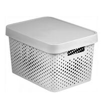 Curver úložný box Infinity 17 l, biela