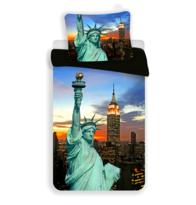 Bavlnené obliečky New York night, 140 x 200 cm, 70 x 90 cm