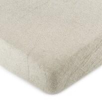 Cearșaf pat 4Home, din bumbac, gri, 180 x 200 cm