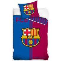 Pościel bawełniana FC Barcelona Erb, 140 x 200 cm, 70 x 90 cm