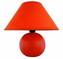 Rabalux lampa stołowa Ariel pomarańczowa