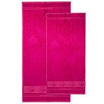 4Home komplet ręczników Bamboo Premium różowy, 70 x 140 cm, 50 x 100 cm