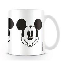 Mickey Mouse Keramický hrnček 315 ml, biela