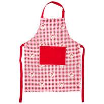 Fartuch kuchenny Country kratka czerwony, 60 x 80 cm