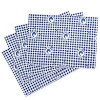 Prestieranie Country kocka modrá, 33 x 45 cm, sada 4 ks