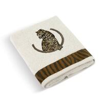 Ręcznik Lampart biały