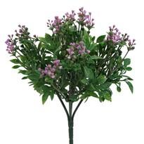 Sztuczny krzew Brslen, jasnofioletowy