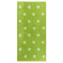 Osuška Stars zelená