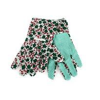 Záhradné rukavice dámske bavlna veľ. 9