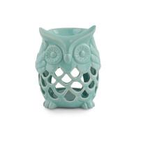 Lampă ceramică aromaterapie Bufniță, mentă